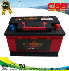 12V 40AH AGM стандарт DIN Car Batetry литиевая батарея дисплей LFP56678