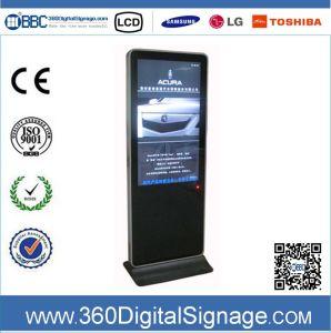42-дюймовый 1080P вертикального типа ЖК-дисплей для установки внутри помещений Digital Signage киоск в сети 3G/WiFi в аэропорту