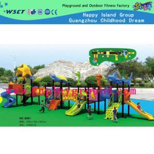 Parque Infantil exterior com temática marinha combinação deslize (HD-2701)