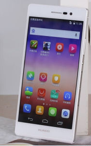 Huawei Ascend P7 Smartphone 4G Lte 5.0'' Incell IPS 1920*1080pix Quad Core 1.8GHz 2GB RAM Mobile Phone 4G Lte Phone