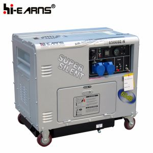 Небольшой шум дизельный генератор DG6500SE-N)