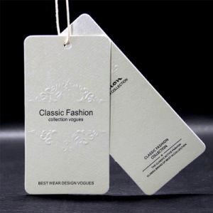 Europa la ropa de etiqueta personalizada de alta calidad colgar la ropa de marcas