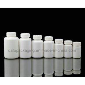 La médecine en PEHD en plastique PET bouteille en plastique avec bouchon en plastique