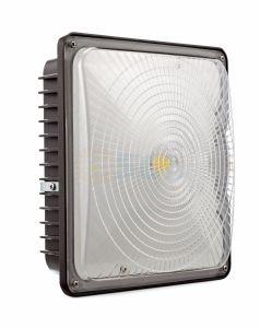 Indicatore luminoso elencato con il sensore di movimento per il campo da giuoco, ginnastica, magazzino, garage, cortile del baldacchino di UL/Dlc 45W 60W LED