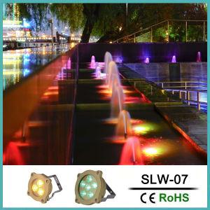 indicatore luminoso subacqueo della piscina di 6*3W RGB LED