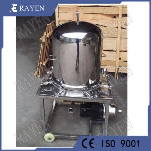Membrana de acero inoxidable de grado alimenticio filtro prensa de la placa de filtro prensa