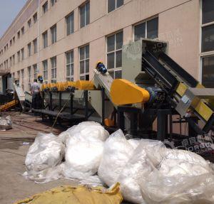 sacchetto tessuto pp 500kg/H che ricicla lavatrice