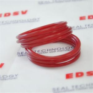 赤いPUのOリング、ポリウレタンゴム製Oリングのシール水およびオイル