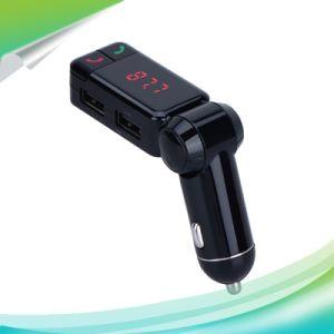 La carga con coche Bluetooth LCD USB flash driver Car Kit Transmisor FM y reproductor de MP3