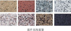 スプレーの自然な石造りの質の壁のペンキかコーティング