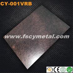 Strato decorativo dell'acciaio inossidabile di vibrazione con il nero ed il rame del Ti