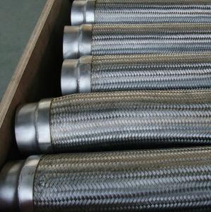 ワイヤー編みこみの軟らかな金属のホース