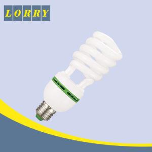 Lampe économiseuse d'énergie économique de demi d'énergie de l'ampoule 26W de poudre spiralée d'halogène