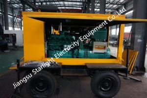 De draagbare en Gemakkelijke Generator van China 350kw van de Beweging Mobiele Elektrische met Dieselmotor Wuxi