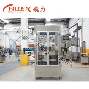 De volledig Automatische Ronde Machine van de Etikettering van de Koker van de Film van pvc van de Fles
