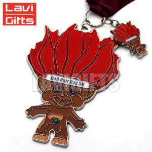 高品質卸し売りカスタム亜鉛合金の金属のスポーツの概要メダル