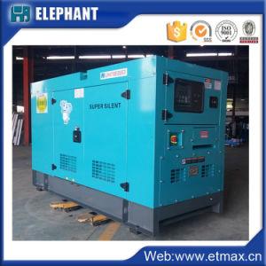 30kVA 24kw Deutzの空気によって冷却される無声発電機