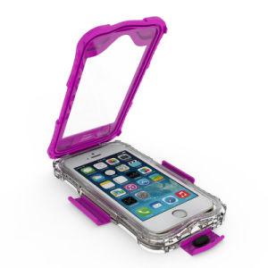 iPhone Se 5または指紋の認識の5sのための防水電話箱の上の6mまで熱い販売
