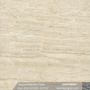 建築材料の大理石の磨かれた磁器のフロアーリングの浴室の壁の床タイル(VRP8W882、800X800mm)