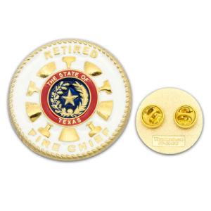 Настраиваемый логотип моды металлических судов мягкой латуни и жестких эмаль эмблемы золотой серебряный герб полиции безопасности Львов флаг военные долго игольчатый булавка для поощрения подарки