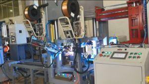 Saldatrice semi automatica di MIG dell'anello della base del cilindro di GPL