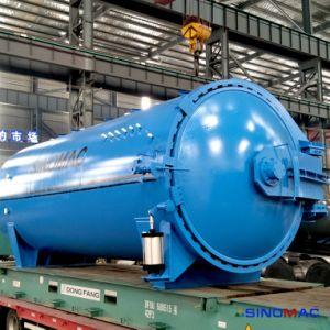 3000X9000mm Cer-anerkannter vollautomatischer elektrischer Heizungs-lamelliertes Glas-Autoklav