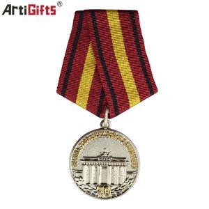 Promoción Gife Nuevo Diseño metálico Medalla Militar insignias personalizadas