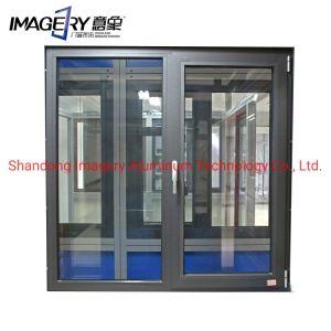 Fenêtre yx60/70 en aluminium de série pour la maison à être vue Beautyfull