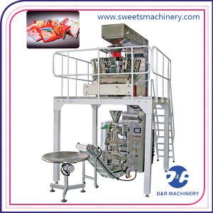 Automatique Popped alimentaire Machine de conditionnement verticale automatique Machine à emballer