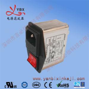 Objectif général de l'alimentation filtrée de modules d'entrée EMC Filtre de bruit avec double porte-fusible et un commutateur