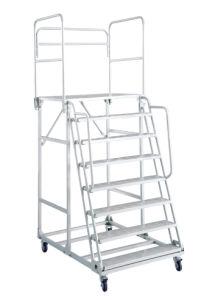 Camion escalier escalier avec plate-forme (HY-DGC001)