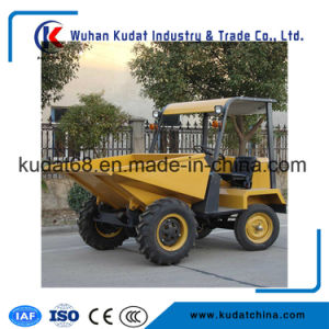 4WD Diesel 1.5tons Mini Concrete Kipwagen SD15
