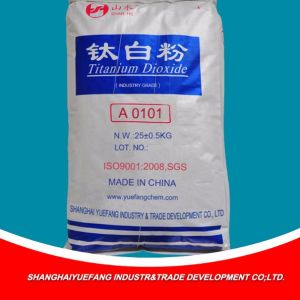 Gewijzigd Gemaakt in het Dioxyde van het Titanium van China Anatase