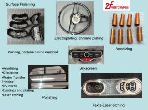 China PMMA protótipo de plástico / Prototipagem plástico maquinado CNC acrílico
