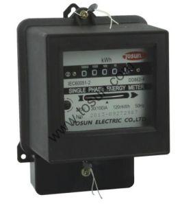 Одна фаза энергии из расчета на ватт счетчика счетчик часов работы счетчик электроэнергии