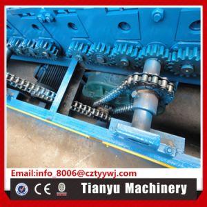 Galet en acier Porte d'obturation latte 125 machine à profiler de fabrication