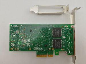 Port Quad PCI Express Gigabit Poe Carte de capture vidéo pour la vision industrielle Inspection (Intel i350AM4 basé) Adaptateur