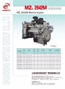 人シリーズ2846のCCSの証明書が付いている2842海洋のディーゼル機関