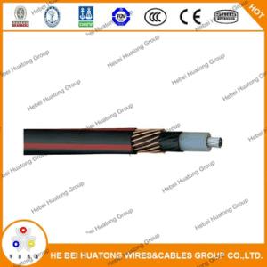 UL 1072 Standard 2AWG 5kv 15kv Urd Tipo de cabo de alimentação