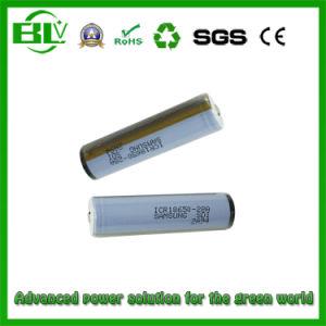 Celda de batería Samsung NCR18650b 3400mAh Li-ion para lámpara solar