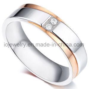 316 anelli del metallo dei monili di modo dell'acciaio inossidabile