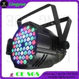 54X3w RGBWの段階DJの最もよい価格LED PAR64ライト