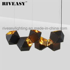Lámpara colgante lámpara de araña de aluminio contemporánea