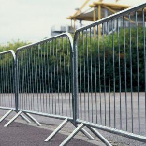 Heiße eingetauchte galvanisierte im Freien entfernbare Masse-Steuerbarrikade für Stadion