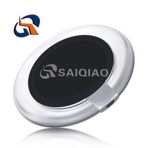 Mini portátil de alta eficiencia de carga cargador inalámbrico rápido