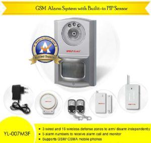 Il nuovo sistema di allarme di GSM con il sensore incorporato di PIR (YL-007M3F (2 IN 1))