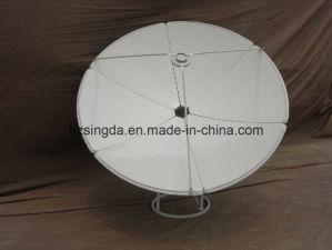 Banda C 180cm antena parabólica com SGS