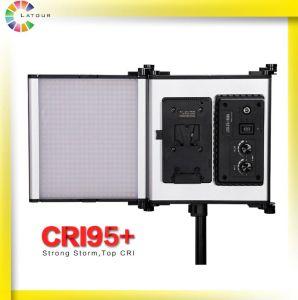 Latour suministro directo de fábrica plegable LED panel de luz portátiles Studio V de la placa de montaje de luz LED fotográfico-Z100d