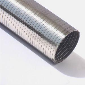 음식 급료 PVC를 가진 두 배 자물쇠 유연한 금속 도관은 입혔다