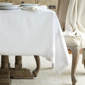 Tovagliolo 100% della tovaglia dell'hotel del cotone di bianco/tovaglia (DPFR80125)